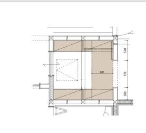 玄関造作棚
