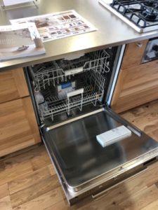 ウッドワンミーレ食洗機